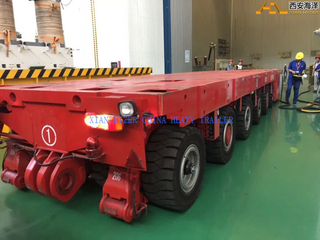 SPMT Trailer Modular Transporter With Electric Motor