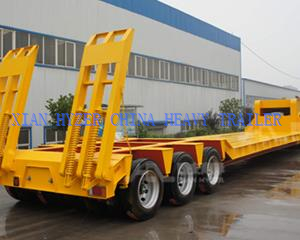 Low Bed Loader Equipment Trailer