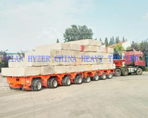 Hydraulic Axle Modular Trailer